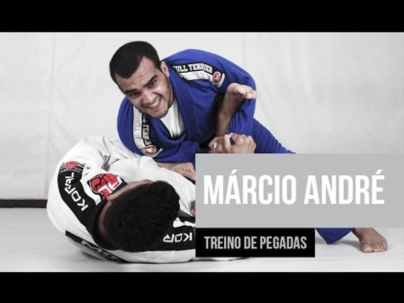 BJJ: Márcio André show the secrets of his grip training