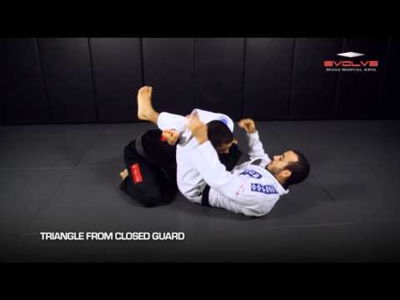 BJJ fundamentals: 5 triangle choke variations in 1 minute