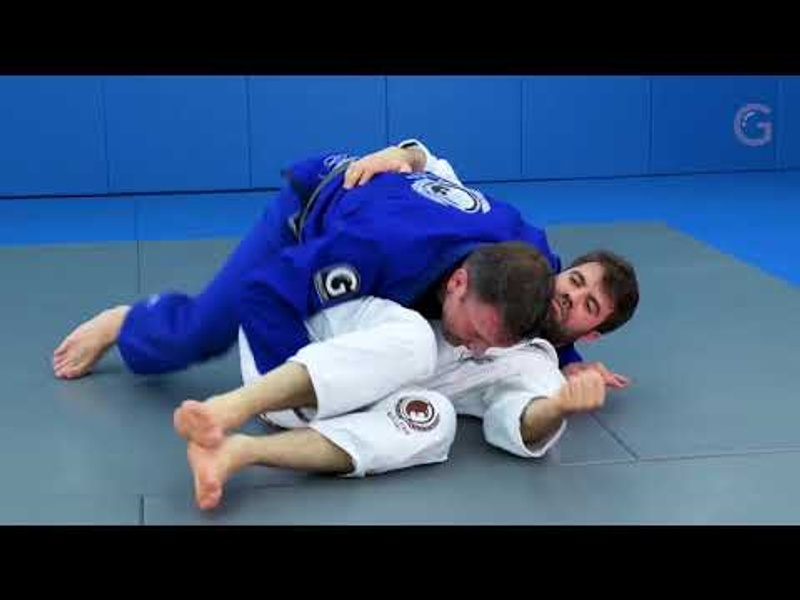 Passing the double-underhook butterfly guard