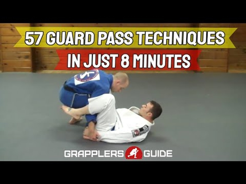 BJJ fundamentals: basic guard passes