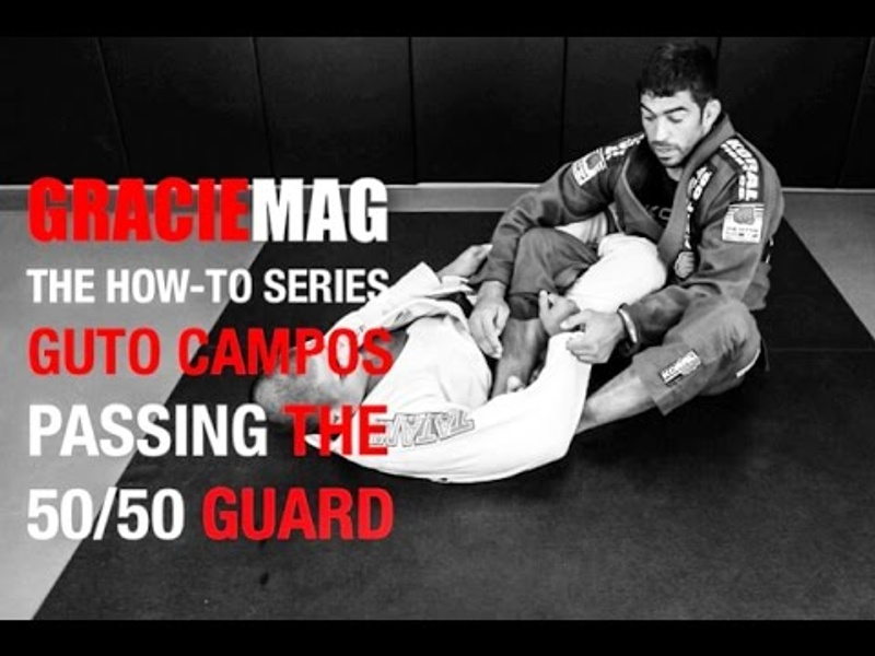 Brazilian Jiu-Jitsu lesson: Guto Campos teaches a way to pass the 50/50 guard