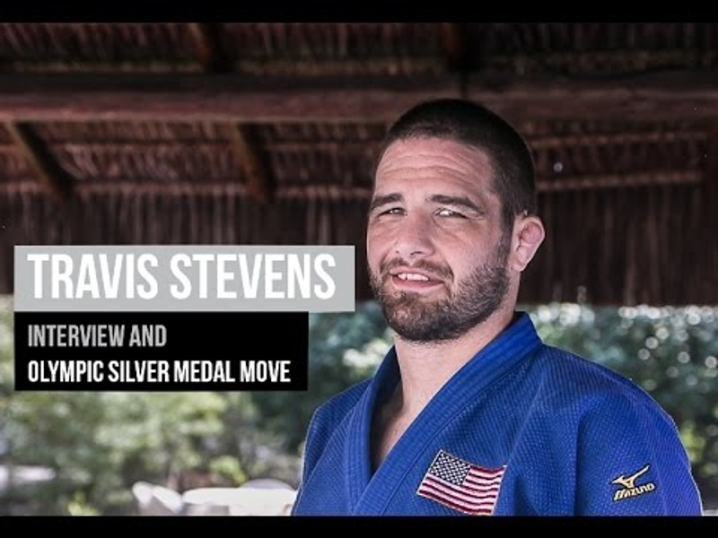 Travis Stevens exclusive interview and Olympic silver medal move