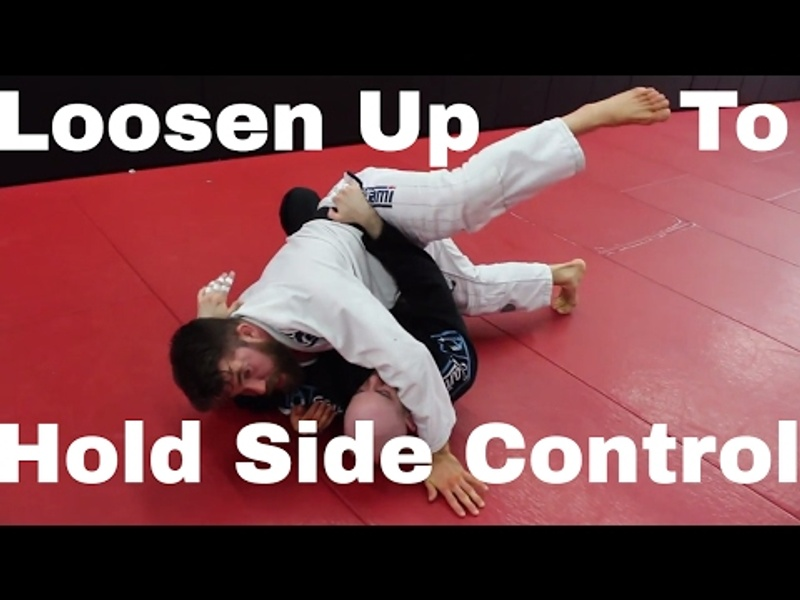 BJJ: 3 tips for maintaining side control against a bigger opponent