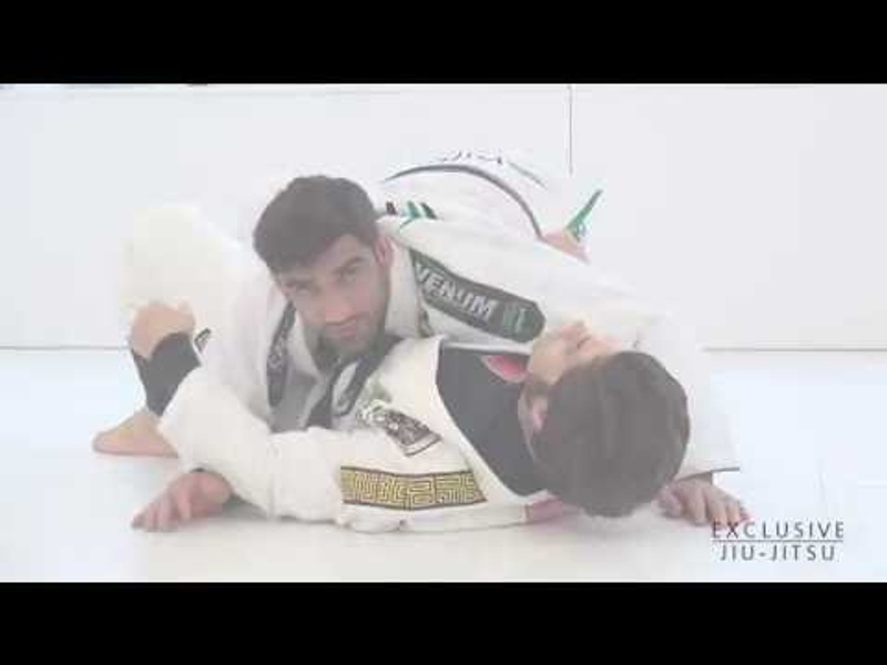 Leandro Lo shows how to pass the lasso guard in BJJ