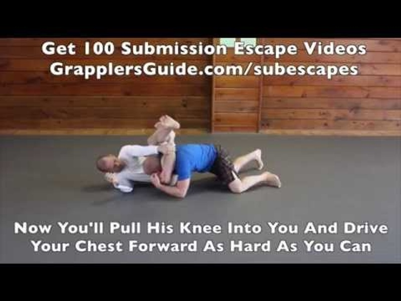 BJJ fundamentals: How to escape the triangle choke