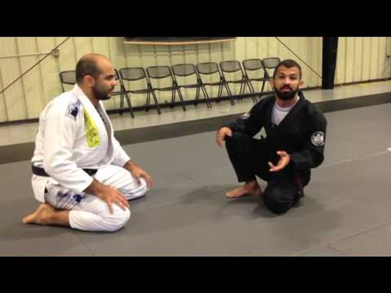 BJJ: Bruno Malfacine shows how to avoid being squashed by bigger fighters