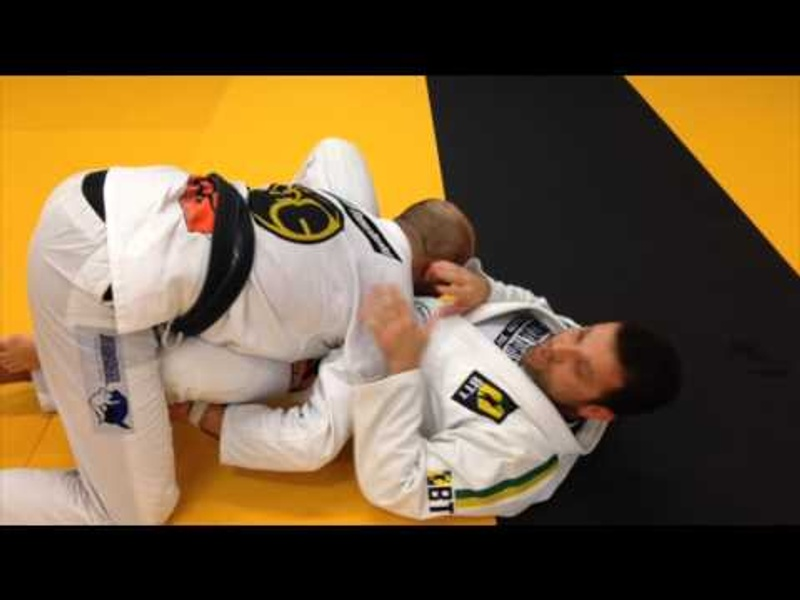 BJJ: Ward off the over-under guard pass with a sweep