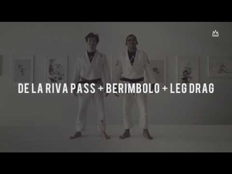 BJJ: Learn how to pass the de la Riva guard using the leg drag and the berimbolo