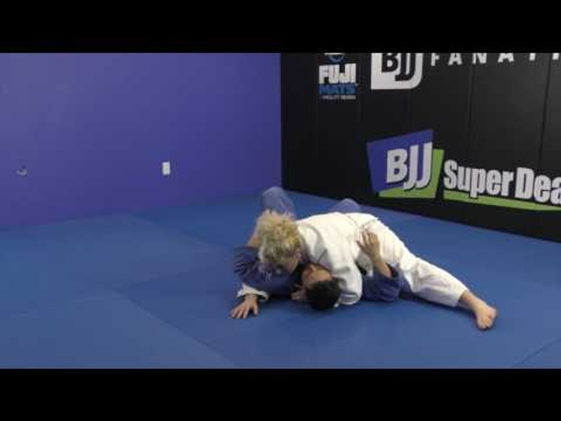 Learn from 2-time Olympic champ Kayla Harrison 2 ways to pass the half-guard