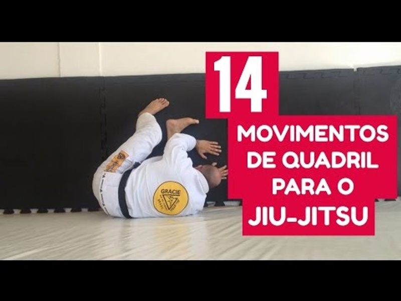 14 solo BJJ drills to build better hip movement