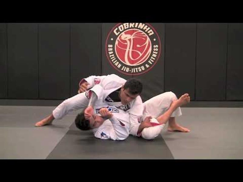BJJ lesson: Charles Cobrinha teaches a toreando guard pass moving to a kimura or armbar
