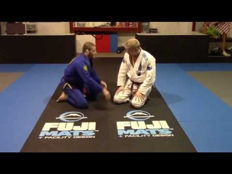 Brazilian Jiu-Jitsu lesson: Olympic Silver Medalist Travis Stevens teaches double leg defense with reverse triangle