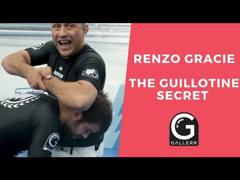 Learn Renzo's secret for the perfect arm-in guillotine