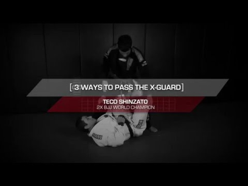 3 ways to pass the X-guard in BJJ