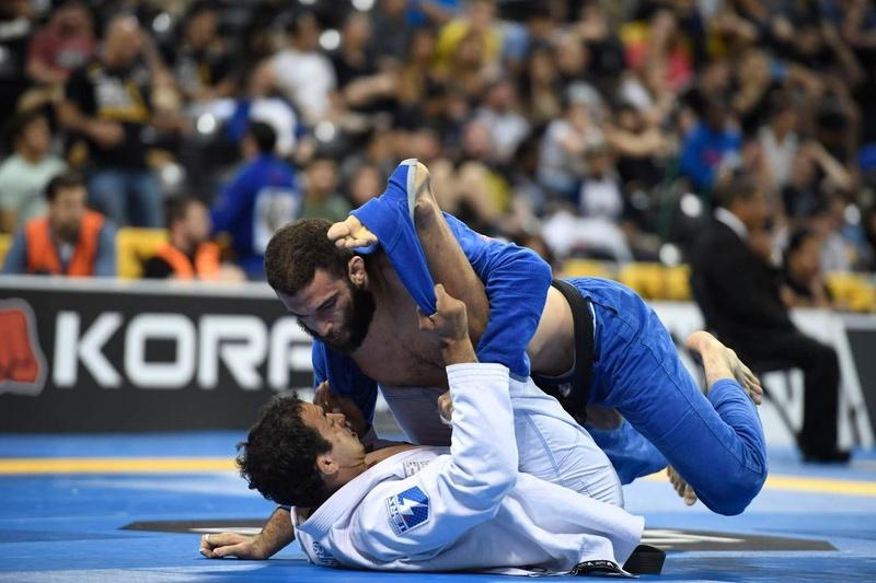 BJJ Worlds 2016: Rômulo Barral vs. Murilo Santana