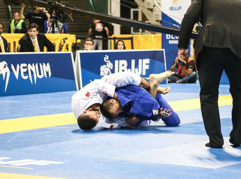 Gabriel Arges took gold as he subbed Marcos Tinoco in the middleweight final