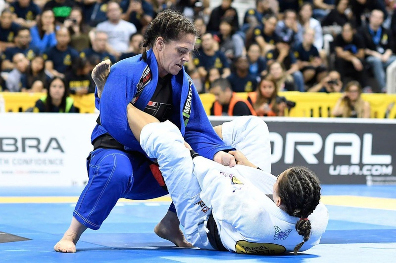 BJJ Worlds 2016: Beatriz Mesquita vs. Sarah Black