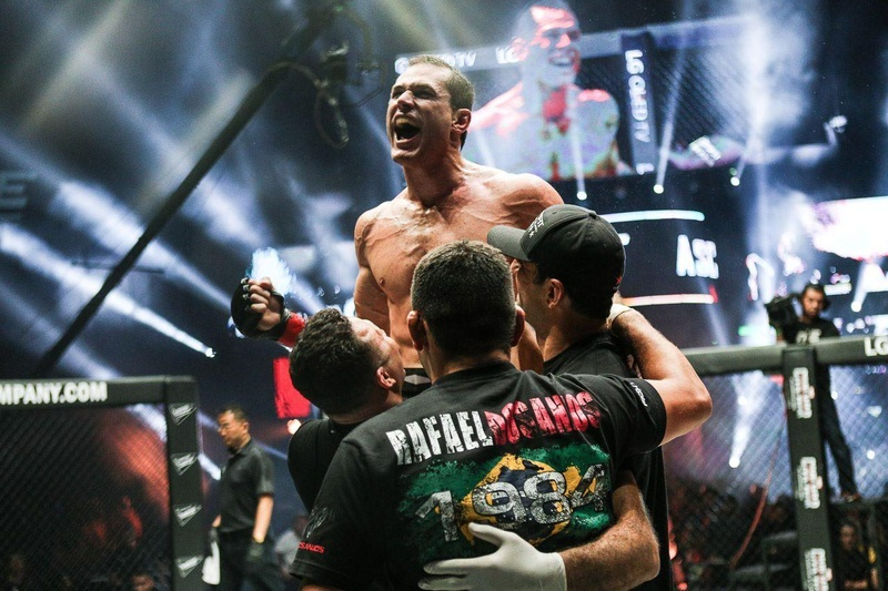 Our Brazilian Jiu-Jitsu victory at ONE FC.