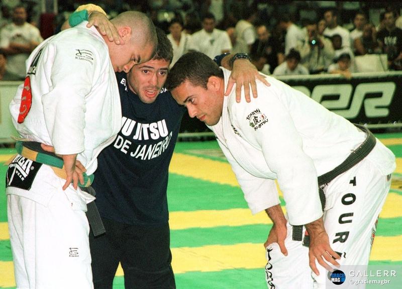 Também no Mundial de 1998, a disputa da faixa-preta categoria leve entre Leo Vieira e Márcio Feitosa.