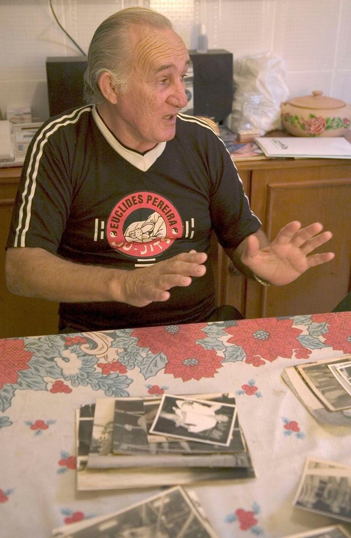 Euclides Pereira, the Brazilian Jiu-Jitsu black belt, lives in Brasilia and is 75 years old