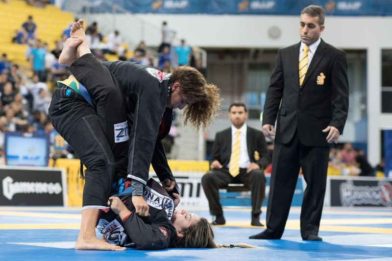 BJJ Worlds 2016: Amanda Cristina run for the super-heavyweight gold