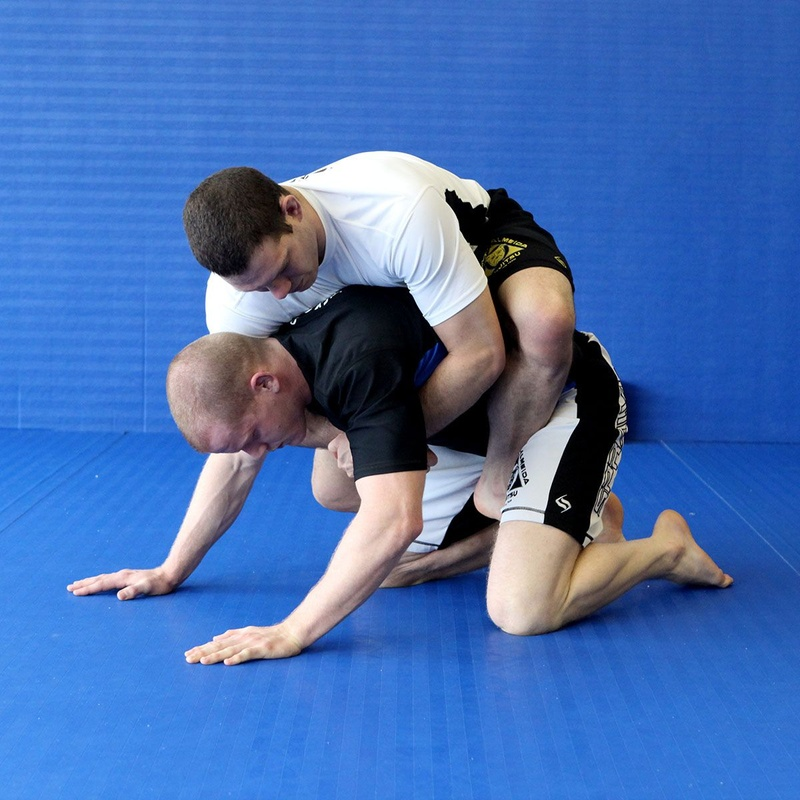 Ricardo Big Dog Almeida teaches a combo takedown back attack