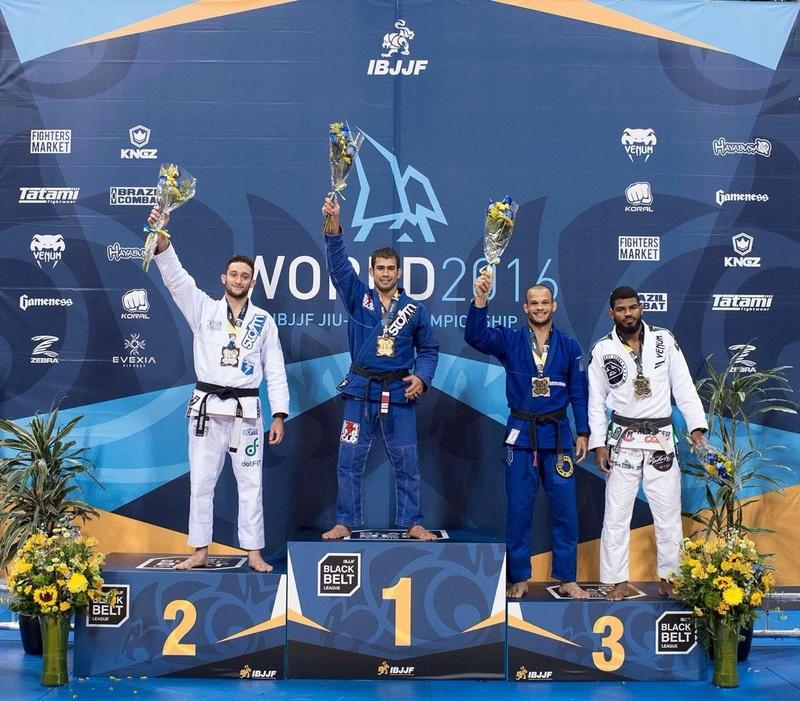 BJJ Worlds 2016: Otávio Sousa vs. Gabriel Arges