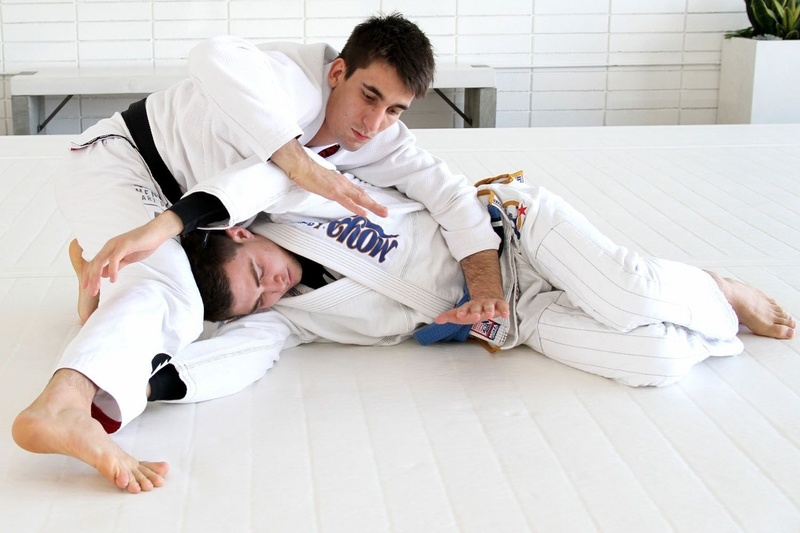 BJJ drills: long step guard pass