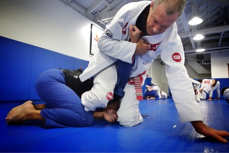 Advanced Class / Master Carlos Gracie Jr. Training