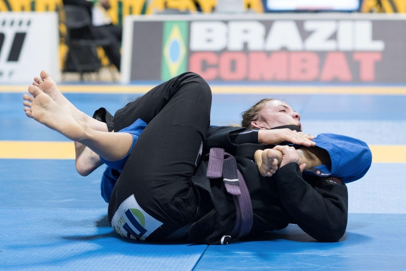 BJJ Worlds 2016: Gabrielle McComb Lima highlights her perfomance with the absolute purple belt title