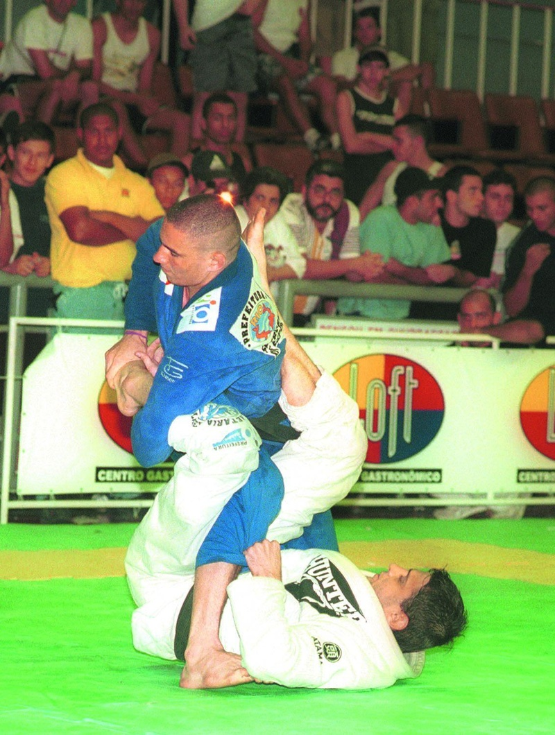 Fernando Margarida vs. Saulo Ribeiro in 2001 at the BJJ Worlds