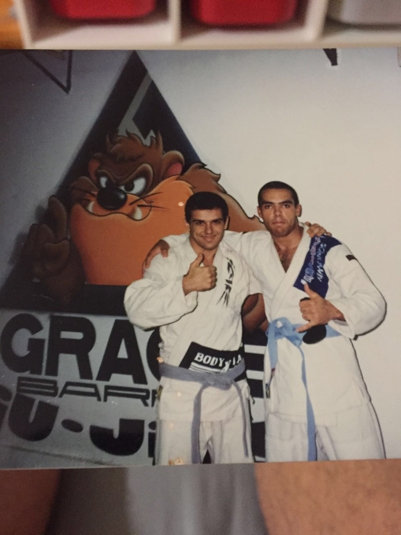 Memories...with Rickson Gracie in Sao Paulo ,with Luca Attala and with Socca
