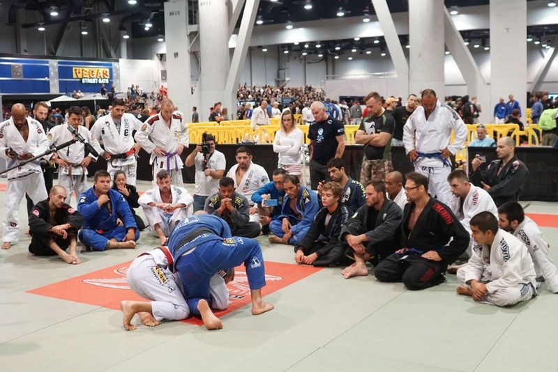 BJJ World Master 2016: Romero Jacaré and Fabio Gurgel teach on the first day of Evexia