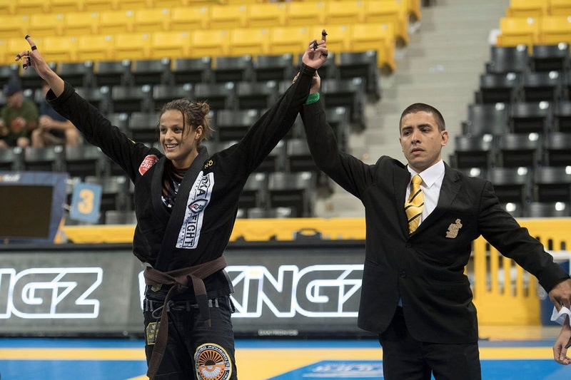 BJJ Worlds 2016: Nathiely Karoline Jesus is the brown belt absolute champion