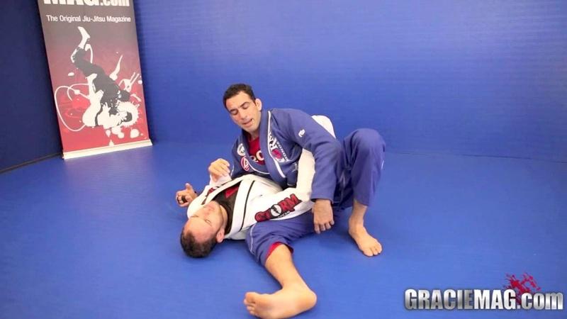 Brazilian Jiu-Jitsu lesson: Braulio Estima teaches an armbar from side control