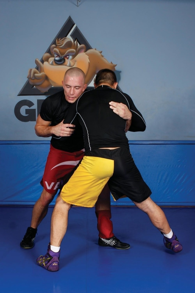 BJJ techniques: GSP teaches how to apply a takedown
