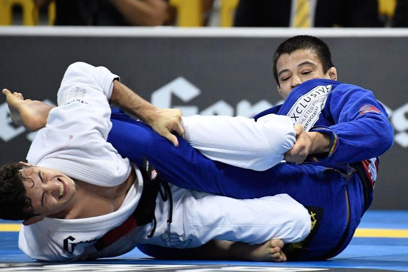 BJJ Worlds 2016: Caio Terra vs. João Miyao
