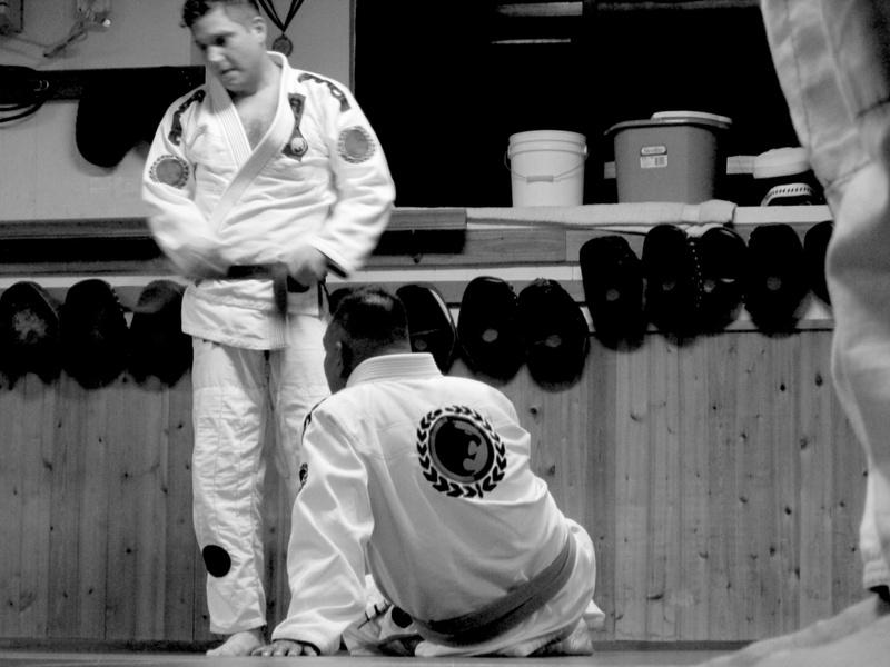 Proud White Belt Under Professor Edgar Chutan @ Renzo Gracie Bayridge, Brooklyn NY