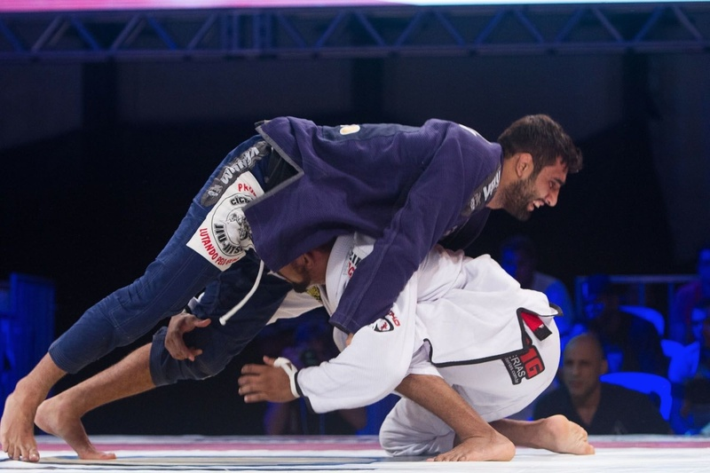 BJJ Copa Pódio: Leandro Lo and Serginho Moraes in a battle in 2015