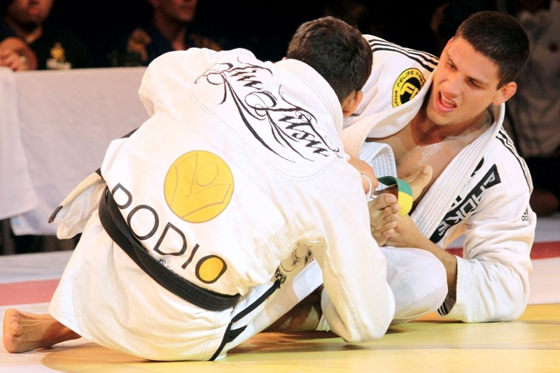 Felipe Preguiça against Leandro Lo at Copa Podio in 2014