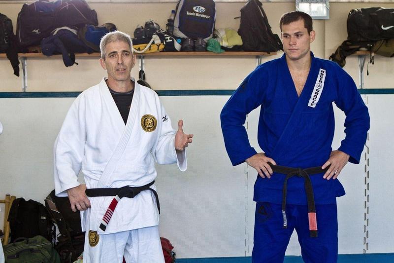 José Henrique Leão Teixeira e Roger Gracie.