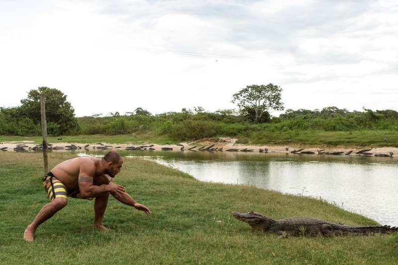 BJJ story: The black belt Roberto Cyborg Abreu shows his homeland, the Pantanal