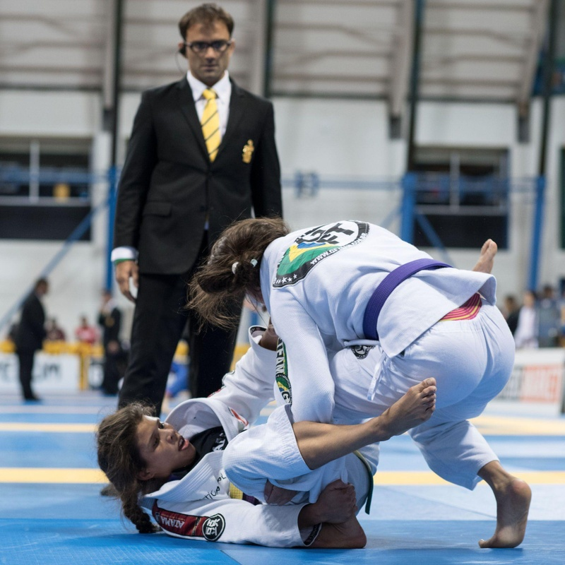 BJJ Worlds 2016: Gabrielle McComb Lima and her purple belt feather weight World title