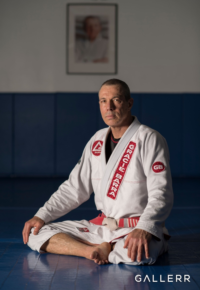 Master Carlos Gracie Jr at Gracie Barra Headquarters in Irvine, California