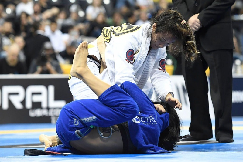 BJJ Worlds 2016: Gezary Matuda vs. Kristina Barlaan