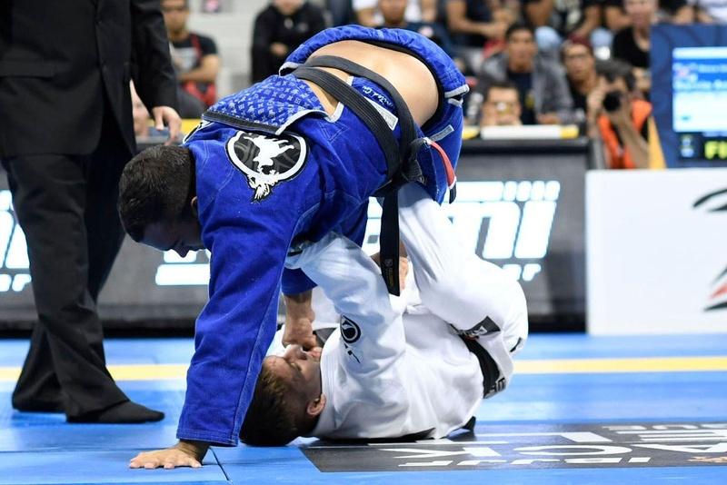 BJJ Worlds 2016: Rafael Mendes vs. Márcio André