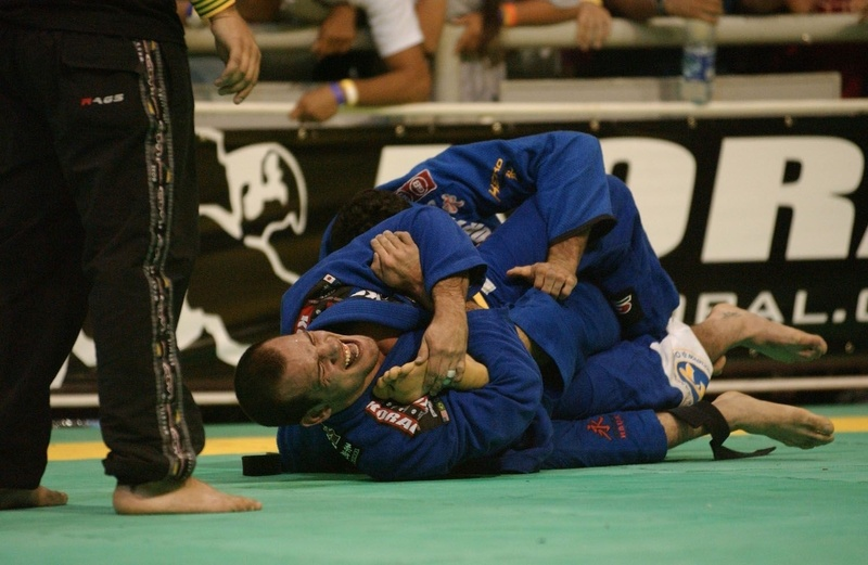 Xande Ribero in action at Words BJJ 2006