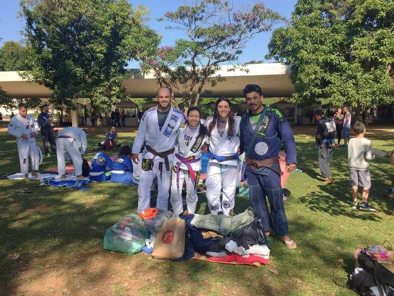 BJJ Engaged: Collective Open Training of Brazilian Jiu-Jitsu in Ibirapuera