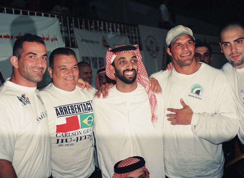 Sperry, Carlson Gracie, Tahnoon, Mark Kerr e Rico Rodrigues