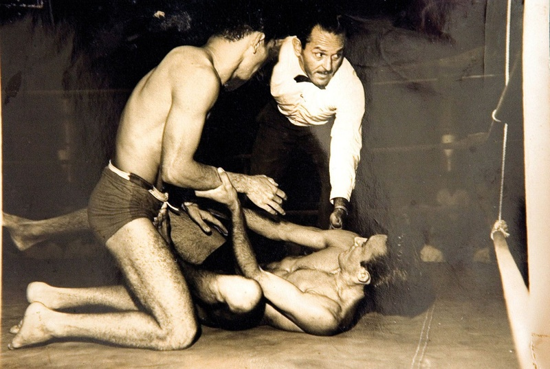 Euclides Pereira has it did hundreds of MMA combats in the 60s and ended up with an amazing percentage of wins